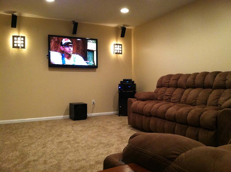 Basement Remodel Olmsted Township Ohio